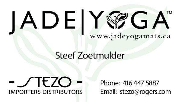 Importer for JadeYoga Canada